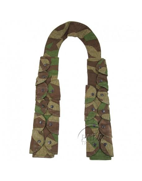 Bandoleer 98K, camouflage éclat