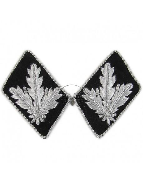 Collar tabs, Waffen SS, Brigadeführer