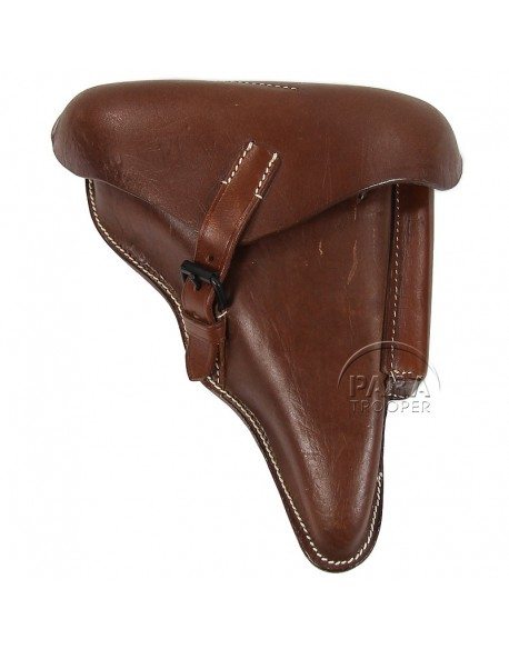 Holster, Luger, P.08, brown
