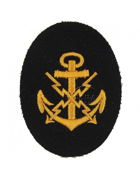 Patch, Sleeve, NCO's, Teletypist, Kriegsmarine