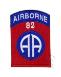 Patch, 82nd Airborne Division, numbered