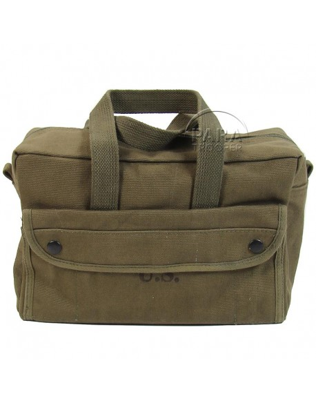 Bag, Satchel, Canvas, small pattern