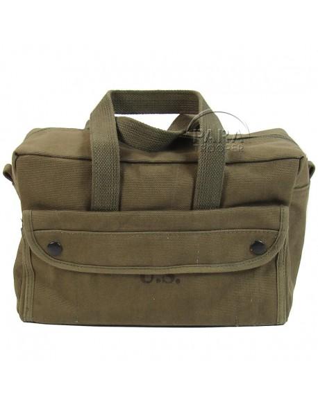 Bag, Satchel, Canvas, small pattern