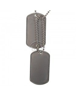 Identity tag's: engraved your post-WWII dog tag's