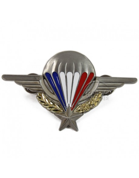 Wings, Parachutist, French, unofficial