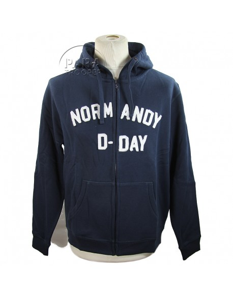 Hoodie, Zipped, D-Day Normandy