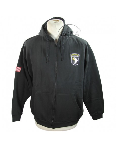Hoodie, Zipped, 101st Airborne Division