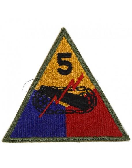 Insigne 5e division blindée US