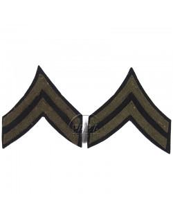 Corporal rank insignia