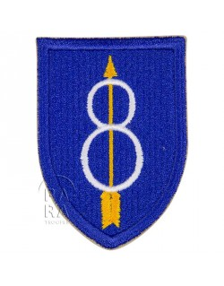 Insigne de la 8ème division d'infanterie US