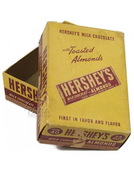 Boite de chocolat, Hershey's