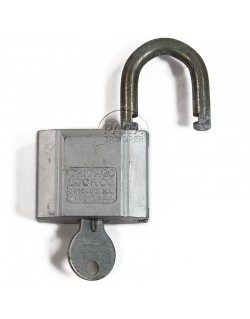 Padlock, US, Chicago Lock Co.