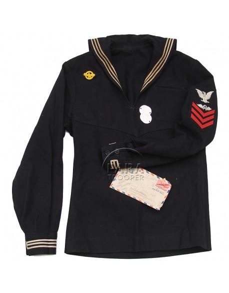 Veste jumper, US Navy, identifiée