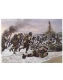 Card, Commemorative, Assault on Omaha Beach