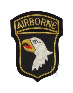 101st Airborne SSI, bullion