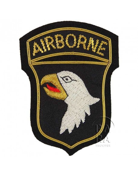 Patch, 101st Airborne, bullion