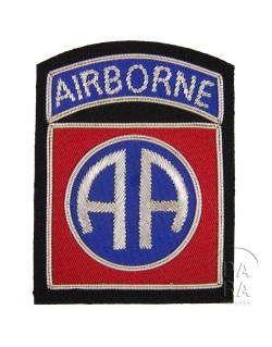 Patch, 82nd Airborne, bullion