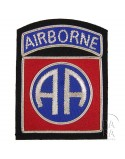 Insigne cannetille 82e Airborne Division