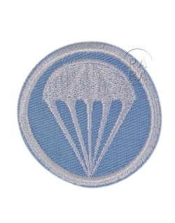 Patch, Cap, twill, light blue, parachute