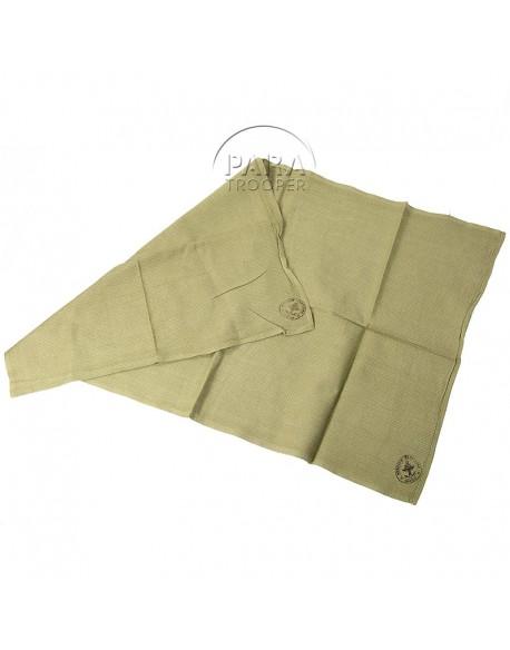 Towel, Huck, olive drab