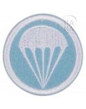 Patch, Cap, felt, Light blue, Parachutist