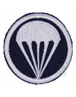 Insigne, twill, bleu foncé, parachutiste