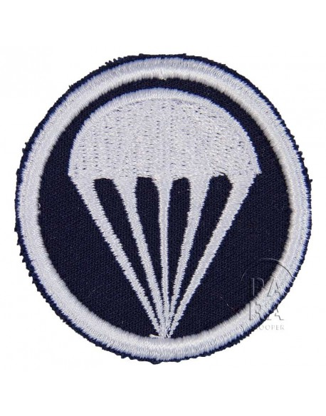Patch, Cap, twill, dark blue, parachute