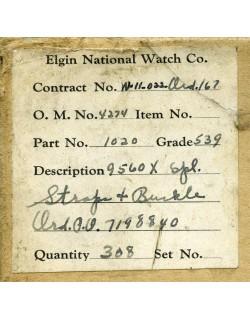 Strap, Watch, Wrist, Elgin