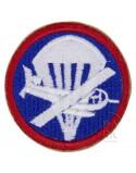 Insigne infanterie para/glider pour calot officier