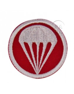 Patch, Cap, twill, red, parachute