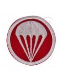 Insigne, twill, rouge, parachutiste
