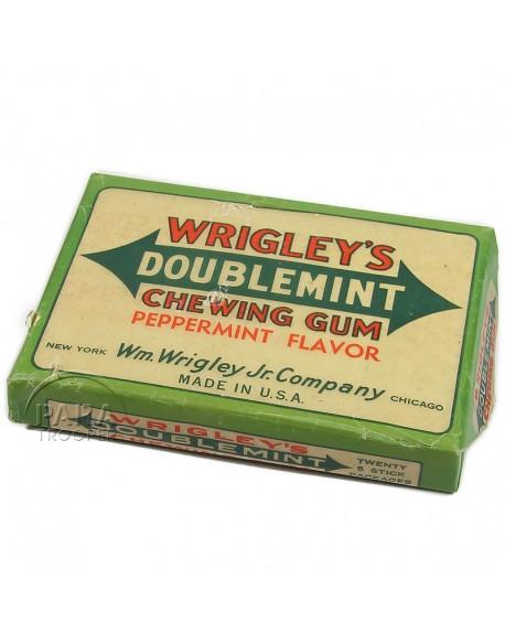 Emballage de paquets de chewing-gum Wrigley's