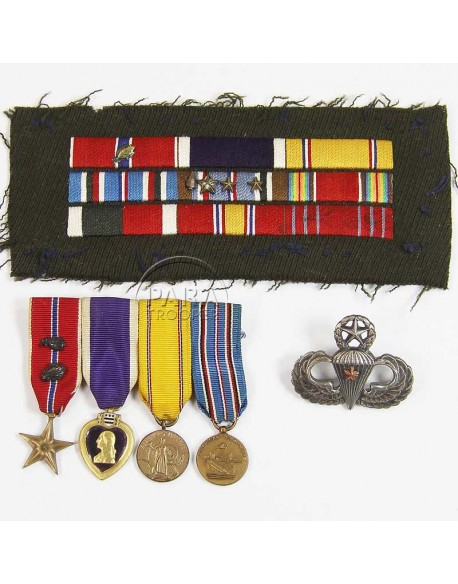 Medals, Ross Donnelly, 504th PIR