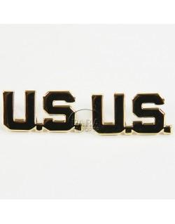 Paire d'insignes de col officier US, S.E.I. Co. Ltd