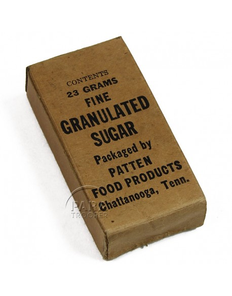 Granulated sugar, K-ration