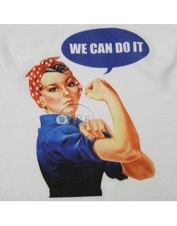 T-shirt, We Can Do It!