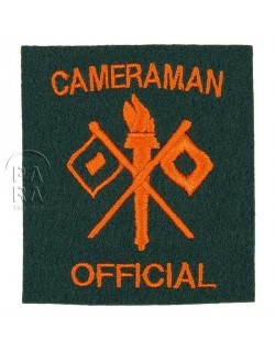 Insigne Official Cameraman