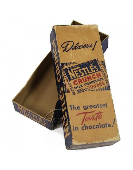 Boite de chocolat, Crunch (Nestlé)
