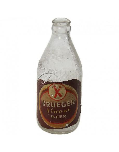 Bouteille de bière Krueger, 1944