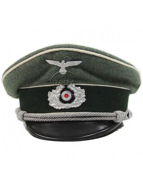 Casquette d'officier infanterie, Heer