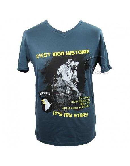 T-shirt C'est Mon Histoire, 101e Airborne Division