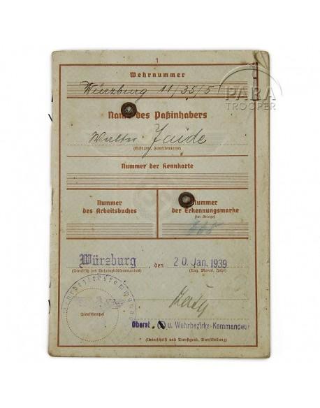 Soldbuch, Parachutiste allemand, 6FJD