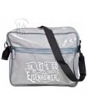 Bag, Messenger, Eisenhower, Grey