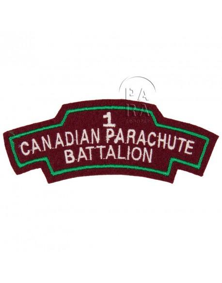 Titre d'épaule 1st Canadian Parachute Battalion