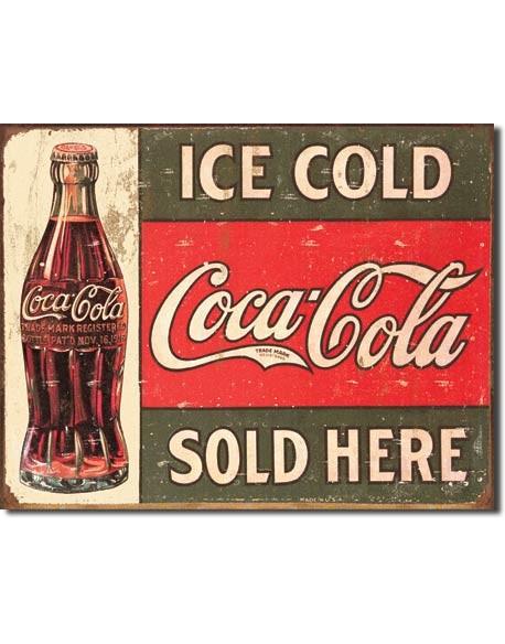 Plaque publicitaire, Coca-Cola 1916