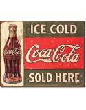Tin Sign, Coca-Cola 1916