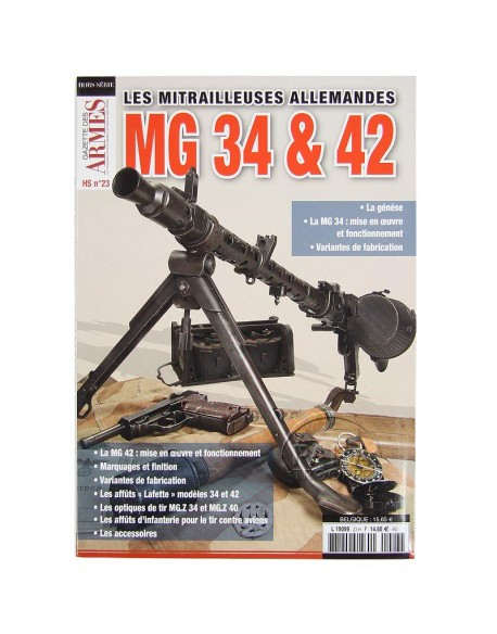 Les mitrailleuses allemandes MG 34 & 42