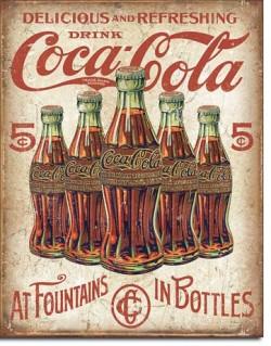 Tin Sign, Coca-Cola Retro