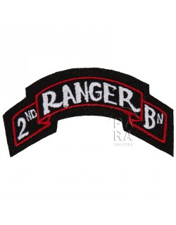 Scroll, 2nd Ranger Battalion