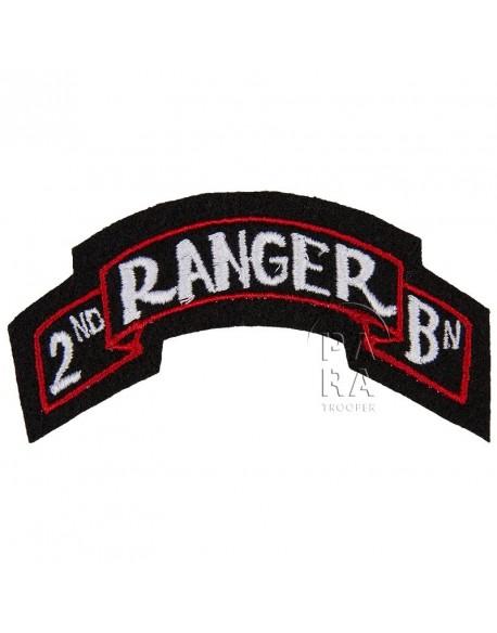 Titre d'épaule 2ème Ranger Bn.